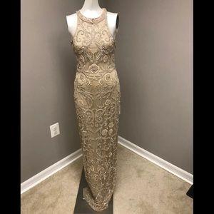 Parker black Ellie gown size 4
